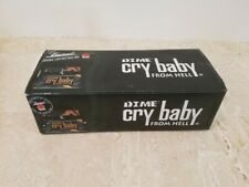 Dunlop Dimebag DB01 Wah Guitar Effect Pedal Cry Baby From Hell CFH w/ Box