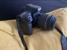 Canon Eos 70D 20.2 Mp Digital Slr Camera - Black
