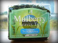 Mulberry Green tea leaves, 100 gram Thanyaporn herbs Thailand