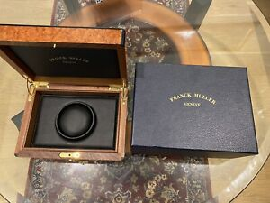 Original FRANCK MULLER Wood Watch Box