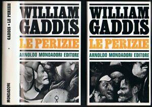 Gaddis William Le perizie Mondadori 1957 2 Volumi