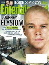 ENTERTAINMENT WEEKLY n°1270 02/08/2013  Elysium-Matt Damon/ Comic-Con / Madonna