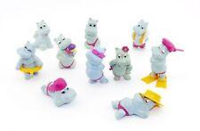 Freie Auswahl an Einzelfiguren der Happy Hippos von 1988 mit vielen Varianten