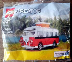 Lego Creator Mini V T1 collector 40079 VW Westfalia Combi