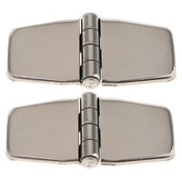 "2pcs 316 Stainless Steel Hinge for Boat Door 1.5 x 3.0"" Marine Hardware"