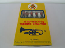VERY RARE TOY PLASTIC SOLDIERS THE SALVATION ARMY MINIATURE BANDSMEN HONG KONG