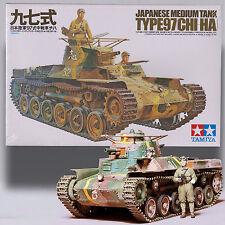 TAMIYA 1/35 TYPE97 CHI-HA JAPANESE MEDIUM TANK PRECISION MODEL KIT35075