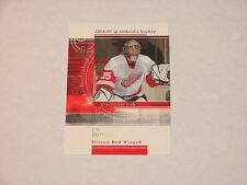 JIM HOWARD RED WINGS 2004-05 SP AUTHENTIC ROOKIE REDEMPTIONS #RR11 78/399 (SB-3)