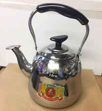 Stainless Steel Tea Pot/Kettle With Filter Strainer 1.0L / 1.5L / 2.0L UK SELLER