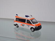 Rietze 51892 H0 1:87 - Ambulancia móvil HORNES PLATA FÚTBOL schaumburg-