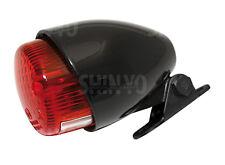 Mini Rücklicht Bremslicht schwarz E-geprüft Scrambler Bopper Tracker Cafe Racer