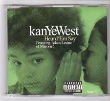 (GB162) Kanye West, Heard 'Em Say ft Adam Levine - 2005 CD
