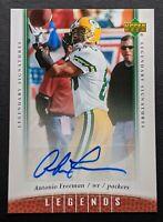 2006 Upper Deck Legends Antonio Freeman #60 Autograph Packers