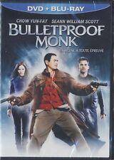 Bulletproof Monk (Blu-ray Disc/DVD, 2010, Canadian) BRAND NEW
