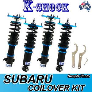 GDB 00-07 SUBARU KSHOCK SUSPENSION 24 level fully adjustable coilover full set