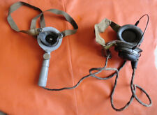 Tannoy Mic Headset RAF Army WWII Armoured Car British tank wireless receiver