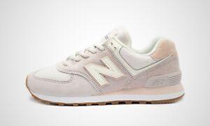New Balance WL574SAX pink/beige, Damen Sneaker, NEU im Karton