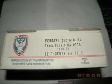LE PHOENIX 1/43 FERRARI 250 GTO 64 TARGA FLORIO 64 #114 KIT LEPHOENIX