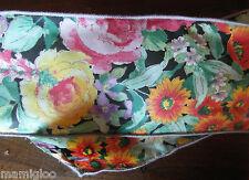 MERCERIE RUBAN ancien coton imprimé fleur1mx10 cm@RUBBON