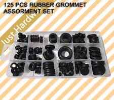 125 PC PCS RUBBER GROMMET ASSORMENT SET
