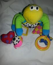 Lamaze plush baby toddler toy rattle teether sensory fine motor skills bell