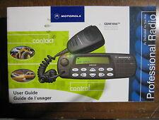 Motorola CDM1550 User Guide     Nice!