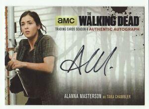ALANNA MASTERSON AS TARA CHAMBLER THE WALKING DEAD SEASON 4 PART 2 AUTO #AM2
