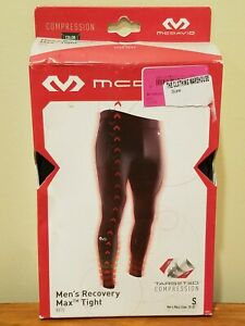 "McDavid 8815 Men's Recovery Max Tight Compression Pants Black Small 28-30"" Waist"