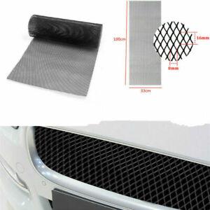 100×33cm Intercooler Radiator Engine Bay Protector Car Rhombus Tuning Grill