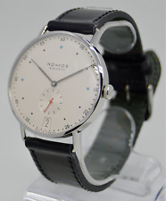 Nomos Glashütte Metro 38 Datum Watch 1102 In-House Movement *Brand New In Box*
