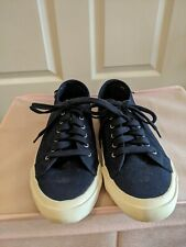 Joules Canvas Navy Tennis Shoe Size 6