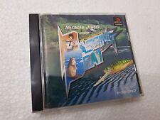 PSX SONY PLAYSTATION JAP NTSC MIRACLE JIM : VIRTUAL FISHING - NO SPINE