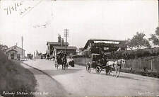Potters Bar. Railway Station by Alpha, St Albans.