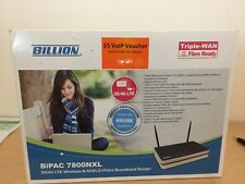 Billion 3G/4G LTE Wireless N ADSL 2/Fibre Broadband Router (BIPAC 7800NXL)