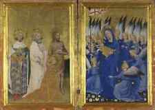 English or French The Wilton Diptych 1 A2 Box Canvas Large