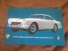 1962 Ferrari 250 Grantirismo Coupe Pininfarina  Original Color Brochure Prospekt