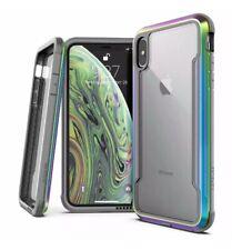 X-Doria DEFENSE SHIELD iPhone XS MAX IRIDESCENT MilitaryGrade Aluminum 10ft Drop