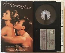 Love Stranger Love (Betamax, 1982) Vera Fischer Unedited Edition RARE OOP HTF