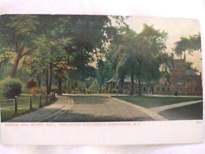 Early 1900s Postcard: Princeton University Dodge and Murry Hall