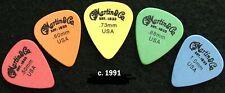 Vintage Guitar Picks - 5 Martin & Co. Full Set All Gauges c. 1991