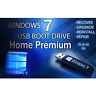Windows 7 HOME PREMIUM ✅64GB USB 32/64bit✅Install Recover Restore PC Fix