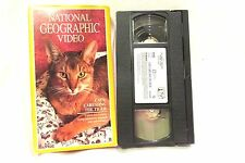 National Geographic Cats Caressing The Tiger VHS Not Rated 1995