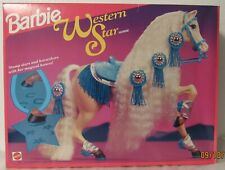 Stampin' Western Star Palomino Horse for Barbie NRFB
