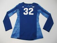 ADIDAS Top Women's Size S Volleyball Blue Jersey #32