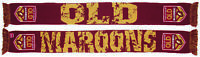 Queensland Maroons QLD State Of Origin NRL Impact Jacquard Scarf! S.O.O.