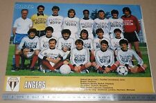 CLIPPING POSTER FOOTBALL 1980-1981 SCO ANGERS STADE JEAN-BOUIN