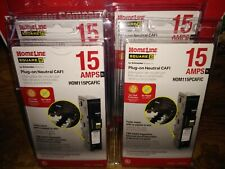 Square D Homeline Hom115pcafic Arc Fault Breaker Plug On Neutral No Pigtail New