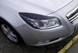 Vauxhall OPEL INSIGNIA 2008-2012 ögonlock Eyebrows ABS headlight spoiler lids