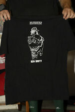 Ken Brett Memorial T shirt George Kansas City Royals LHP 2XL Near Mint+ MLB