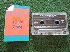 ROXETTE **Bonnie & Clyde ** ORIGINAL & DELETED 1993 Italy CASSETTE NO LP